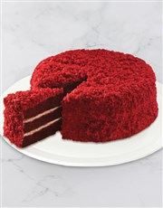 Moist and velvety chocolate cake, layered with a s