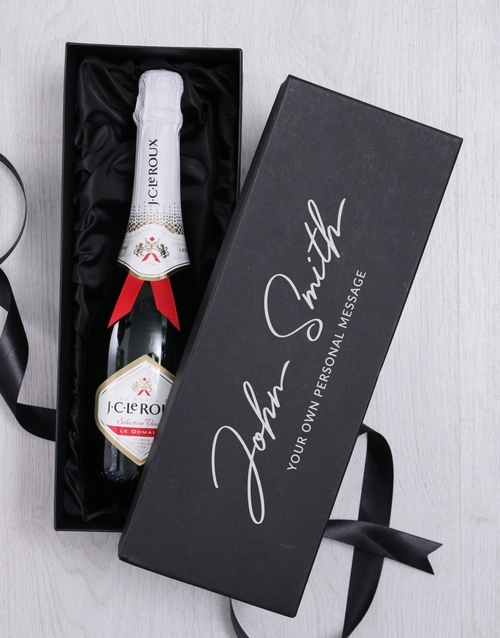 bosses-day: Personalised Signature Bubbly Giftbox!