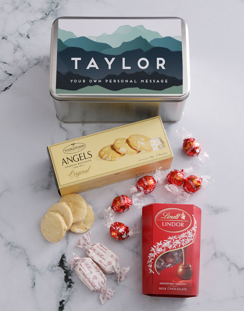 mothers-day: Personalised Hills And Hills Snack Tin!