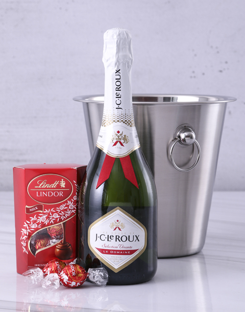 valentines-day: JC Le Roux Lindt and Ice Bucket Surprise!