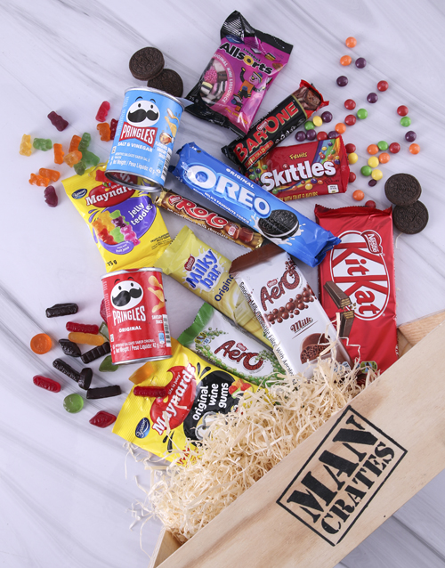 fathers-day: Sweet Assortments Man Crate!