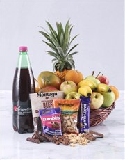Picture of Seasonal Fruit and Treats Basket!