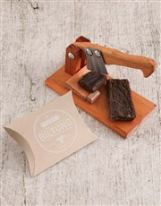 Picture of Small Biltong Cutter with Biltong Gift!
