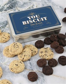 gifts: Personalised You Biscuit Tin!