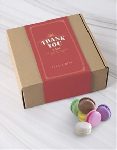 gifts: Personalised Thank You Macaroon Box!