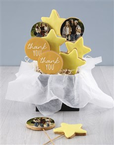 gifts: Personalised Gratitude Cookie Bouquet!