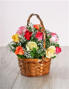 gifts: Country Mixed Rose Display!