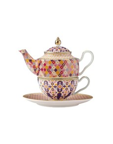 brand: Maxwell & Williams Kasbah Tea For One Rose!