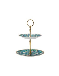 brand: Maxwell & Williams Kasbah Tiered Cake Stand Mint!