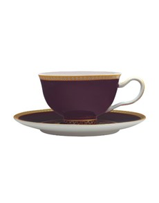 brand: Maxwell & Williams Kasbah Cup Saucer Violet!