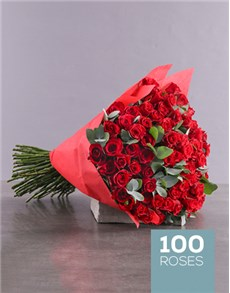 flowers: Love Red Rose Bouquet!
