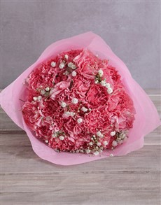 gifts: Precious Moments Pink Carnations!