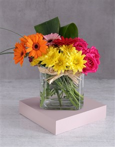 gifts: Bright Spring Mixed Arrangement!