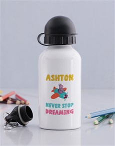 gifts: Personalised Keep Dreaming Bottle!