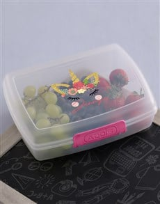 gifts: Personalised Unicorn Lunch Box!
