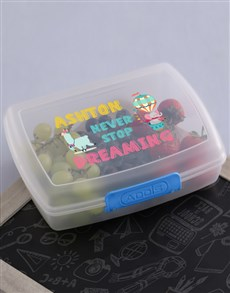 gifts: Personalised Keep Dreaming Lunch Box!