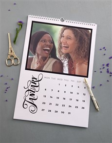 gifts: Personalised Photo Wall Calendar!