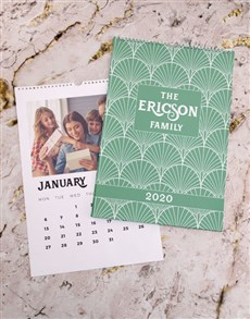 gifts: Personalised Family Deco Wall Calendar!