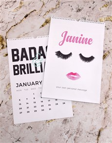 gifts: Personalised Feminista Wall Calendar!