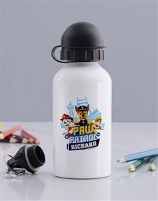 gifts: Personalised Paw Patrol Pups Water Bottle!