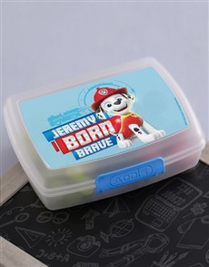 gifts: Personalised Born Brave Lunchbox!