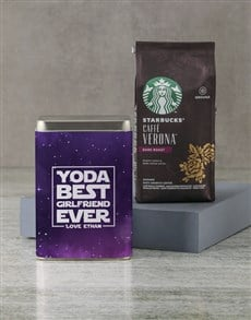 gifts: Personalised Starbucks Best Ever Coffee Tin!