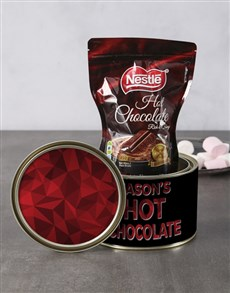 gifts: Personalised Hot Chocolate Spoils Tin!