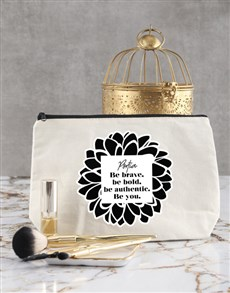 gifts: Personalised Be You Cosmetic Bag !