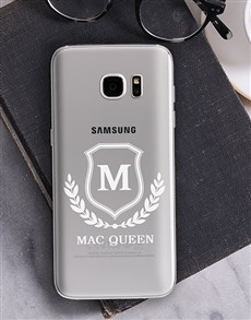 gifts: Personalised Shield Samsung Cover!