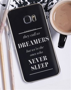 gifts: Personalised Dreamers Samsung Cover!