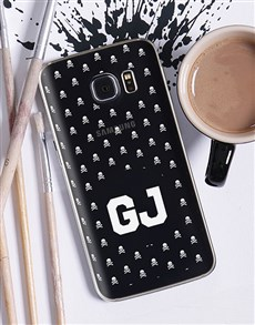 gifts: Personalised Skulls Samsung Cover!