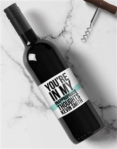 gifts: Personalised Inappropriate Wine!