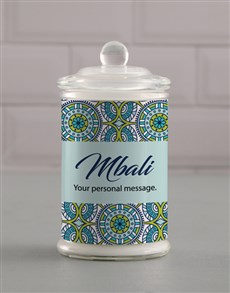 gifts: Personalised Suave Candle Jar!