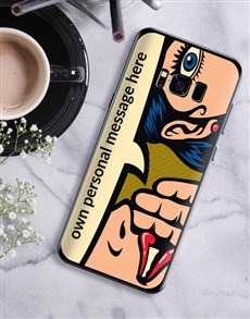 gifts: Personalised Pop Art Samsung Cover!