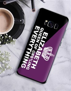 gifts: Personalised Queen Samsung Cover!