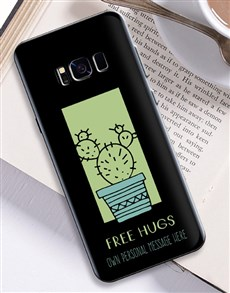gifts: Personalised Cactus Samsung Cover!