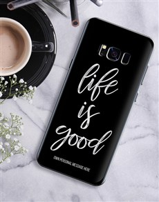 gifts: Personalised Good Life Samsung Cover!