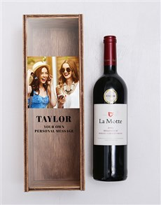 gifts: Personalised La Motte Wine Crate!