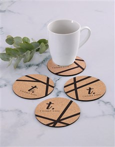 gifts: Personalised Patterned Coaster Set!
