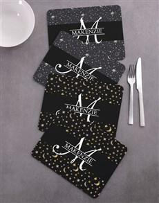 gifts: Personalised Stars Placemat Set!