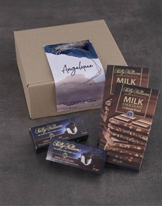 gifts: Personalised Shimmer Sally Williams Nougat Box!