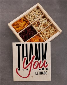gifts: Personalised Thank You Snack Crate!