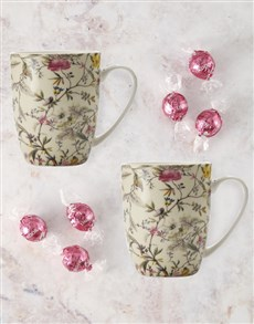 gifts: Maxwell And Williams Wings And Blooms Mug Set!