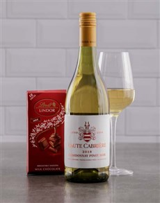 gifts: Duo of Haute Cabriere and Lindt Chocolate!