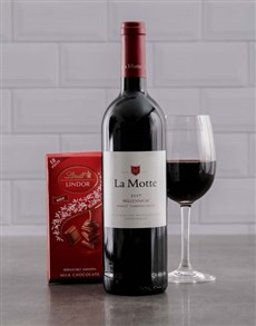 gifts: La Motte Millenium and Lindt Gift!