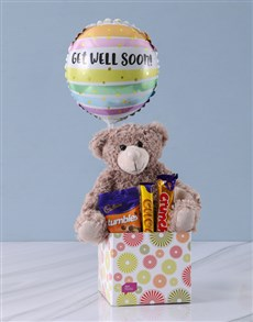 gifts: Chocolates and Cuddles Get Well Gift!