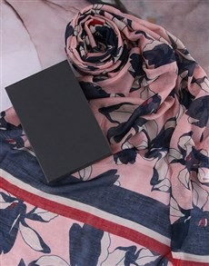gifts: Floral Scarf Gift!
