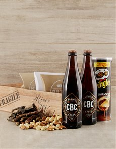 gifts: Lager Beer Lovers Booze Crate!