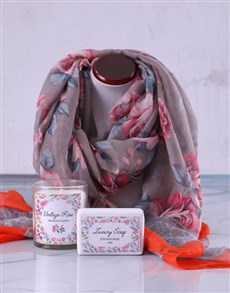 gifts: Pamper Box and Scarf Gift!