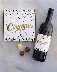 gifts: Golden Congrats Choc Tray!